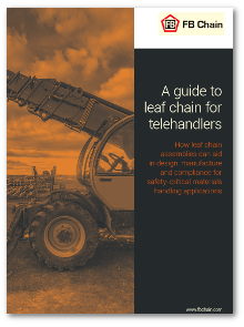 Guide to leaf chain for telehandlers