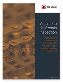 Guide to leaf chain inspection
