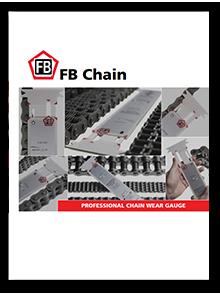 Professional chain wear gauge